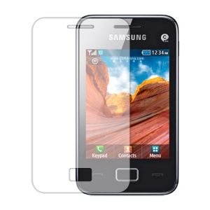 Clear Screen Protector Film for Samsung Star 3 s5220 / Duos s5222