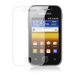 For Samsung Galaxy Y S5360 Ultra Clear LCD Screen Protector