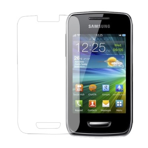Clear LCD Screen Protector for Samsung Wave Y S5380 Wave 538