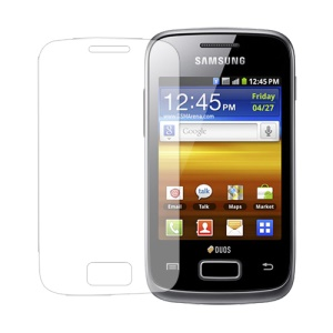 Clear LCD Screen Protector for Samsung Galaxy Y Duos S6102 S6102B