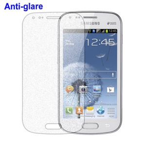 Anti-Glare Frosted Clear LCD Screen Protector for Samsung Galaxy S Duos S7562