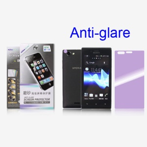 Nillkin Matte Anti-Glare Scratch-Resistant Protective LCD Film for Sony Xperia J ST26i ST26a (Suite Edition)