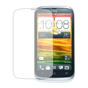 Clear LCD Screen Protector for HTC Desire V T328w Desire X T328e