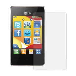 Ultra Clear LCD Screen Protector Film for LG T385