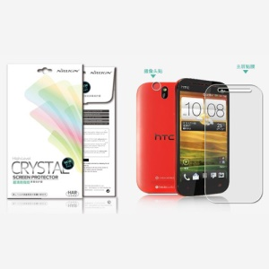 Nillkin Super Clear Anti-Fingerprint Protective Film for HTC One SV One ST T528t (Suite Edition)
