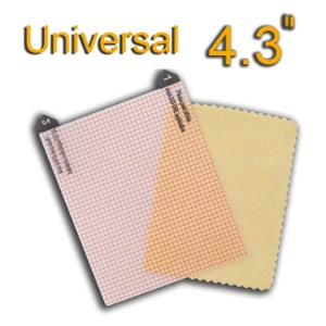 4.3 inchs Universal LCD Screen Protector Guard Film,Size:2.76&#39;&#39; x 3.35&#39;&#39;