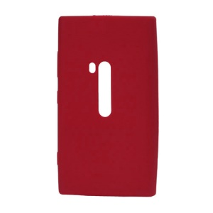 Silicone Rubber Jelly Case for Nokia Lumia 920 - Red