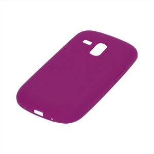 Silicone Jelly Skin Case Cover for Samsung Galaxy S III / 3 Mini I8190 - Rose