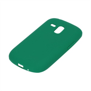 Silicone Jelly Skin Case Cover for Samsung Galaxy S III / 3 Mini I8190 - Green