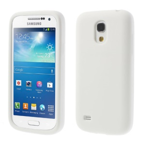 White Silicone Skin Cover for Samsung Galaxy S4 mini I9190