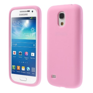 Pink for Samsung Galaxy S4 mini I9190 Silicone Gel Cover Shell