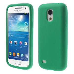 Green Silicone Phone Cover for Samsung Galaxy S4 mini I9190