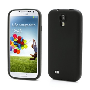 Flexible Silicone Skin Protector Case for Samsung Galaxy S 4 IV i9500 i9505 - Black