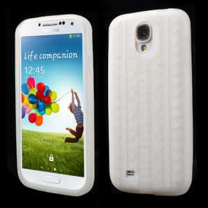 Tyre Silicone Case for Samsung Galaxy S4 I9500 I9502 I9505 - Transparent