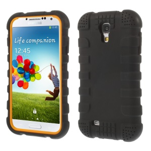 Shock-proof Silicone Gel Case for Samsung Galaxy S4 I9500 I9502 I9505 - Black