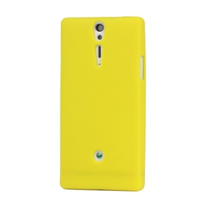 Silicone Skin Case Cover for Sony Xperia S LT26i LT26a / Nozomi - Yellow