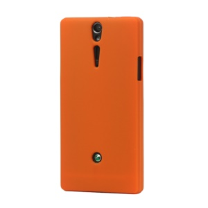 Silicone Skin Case Cover for Sony Xperia S LT26i LT26a / Nozomi - Orange