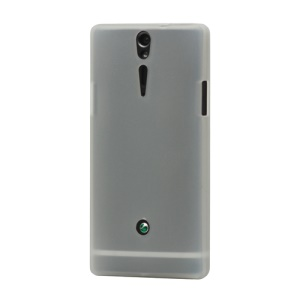 Silicone Skin Case Cover for Sony Xperia S LT26i LT26a / Nozomi - White