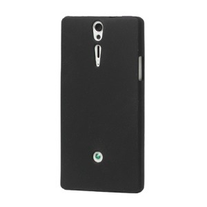 Silicone Skin Case Cover for Sony Xperia S LT26i LT26a / Nozomi - Black