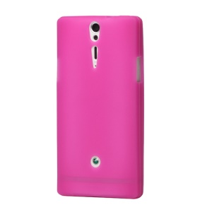 Silicone Skin Case Cover for Sony Xperia S LT26i LT26a / Nozomi - Rose