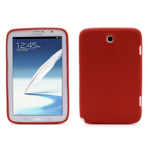 Soft Silicone Case Shell for Samsung Galaxy Note 8.0 N5100 N5110 - Red