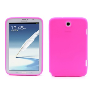 Soft Rubber Silicone Case for Samsung Galaxy Note 8.0 N5100 N5110 - Rose