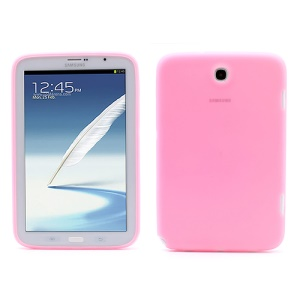 Soft Rubber Silicone Case for Samsung Galaxy Note 8.0 N5100 N5110 - Pink