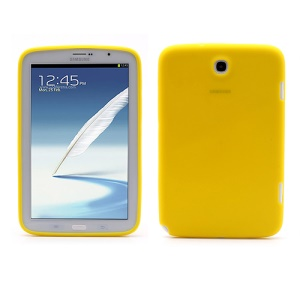 Soft Silicone Case Cover for Samsung Galaxy Note 8.0 N5100 N5110 - Yellow