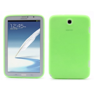 Soft Silicone Case Cover for Samsung Galaxy Note 8.0 N5100 N5110 - Green