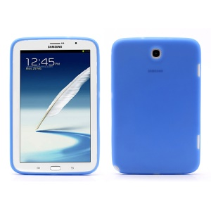 Soft Silicone Case Cover for Samsung Galaxy Note 8.0 N5100 N5110 - Dark Blue
