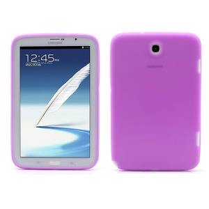 Soft Silicone Case Cover for Samsung Galaxy Note 8.0 N5100 N5110 - Purple