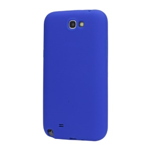 Soft Silicone Case Cover for Samsung Galaxy Note II N7100 - Blue