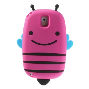 Rose Lovely Honeybee Soft Silicone Case for Samsung Galaxy Note 3 N9005