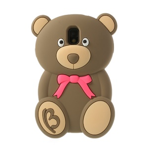 Brown 3D Bear Shaped Fragrant Soft Silicone Cover for Samsung Galaxy Note 3 N9002 N9000