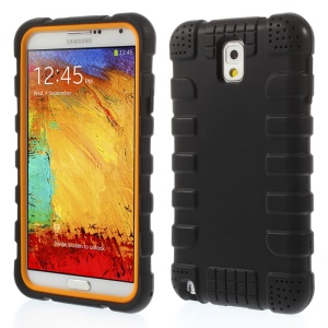 Anti-slip Protective Soft Silicone Case for Samsung Galaxy Note 3 N9005 - Black