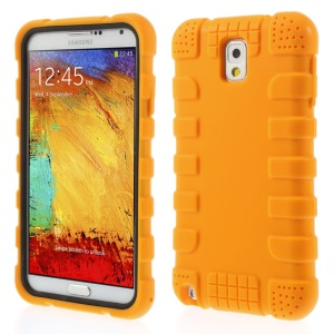 Anti-slip Protective Soft Silicone Shell for Samsung Galaxy Note 3 N9005 - Orange