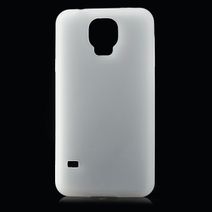 White for Samsung Galaxy S5 G900F Soft Silicone Shell