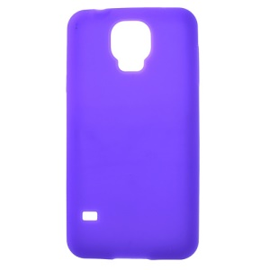 Purple Soft Silicone Cover for Samsung Galaxy S5 G900F