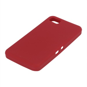 Flexible Silicone Skin Back Case for BlackBerry Z10 BB 10 - Red