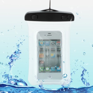 Waterproof Dry Bag Pack Case Pouch for Samsung Galaxy S4 I9500/ Galaxy I9300 / iPhone 5 4S Etc (Size:155x105mm) - Transparent