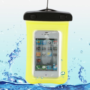 Waterproof Dry Bag Pack Case Pouch for Samsung Galaxy S4 I9500/ Galaxy I9300 / iPhone 5 4S Etc (Size:155x105mm) - Yellow