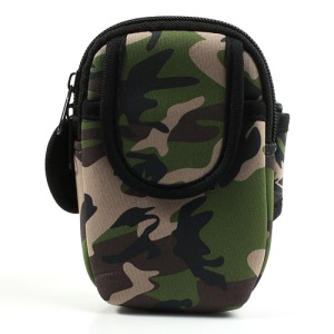 Camouflage Soft GYM Armband Pouch for iPhone 5c 5s 5 4S 4 Samsung Sony BlackBerry Etc 4-4.5inch Cellphones