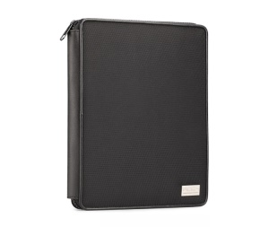 ROCK Simplicity Series Multi-function Sleeve Pouch Bag Case for iPad Air 5 4 3 2 9.7-inch Tablet PC, Size: 25 x 19.5 x 2.5cm - Black