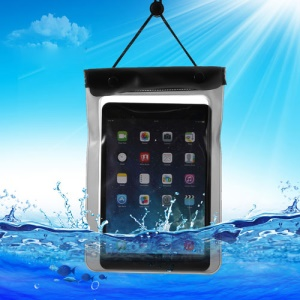 Black Tablet Waterproof Dry Bag Sleeve Pouch for iPad Mini / Mini 2 Galaxy Tab, Fat Size: 23.5cm x 16.3cm