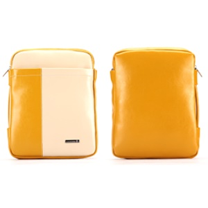 KLD Tao Series Multi-functional Shoulder Bag for iPad / 10.1 inch Tablet PCs, Size: 28 x 22cm - Yellow