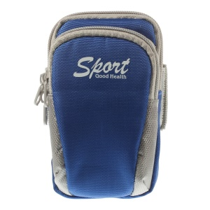 4 inch Universal Outdoor Sports Armband Case for iPhone 4s Nokia Lumia 530 Samsung Galaxy Ace 3 S7275 - Blue