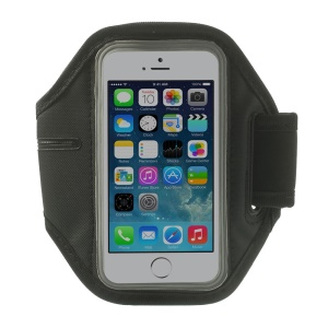 Running Gym Sports Neoprene Armband Cover for iPhone 5s 5 4s 4 - Grey
