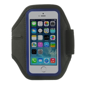 Running Gym Sports Neoprene Armband Cover for iPhone 5s 5 4s 4 - Blue