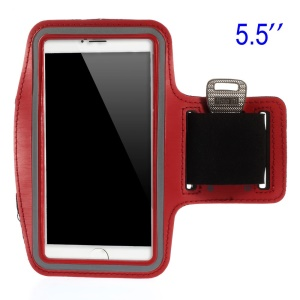 Running Sports Armband Case Cover for Samsung Galaxy Note 3 N9005, Size: 151.2 x 80mm - Red
