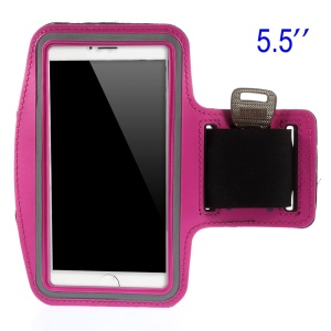 Running Sports Armband Cover Case for Samsung Galaxy Note 3 N9005, Size: 151.2 x 80mm - Rose